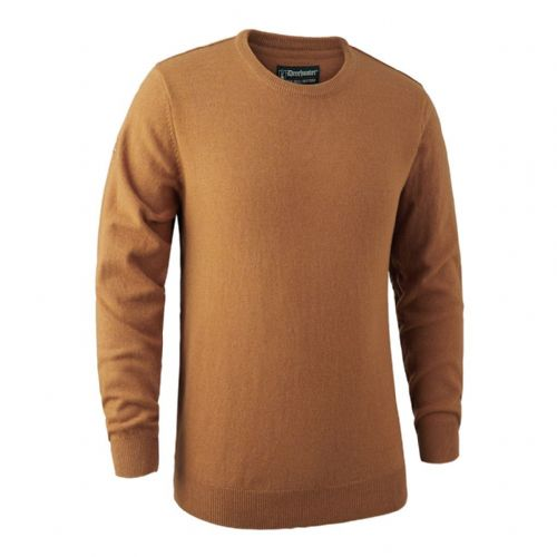 Deerhunter Brighton  Round Neck Pullover: Yellow Mix